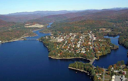 Village of Northville on Great Sacandaga Lake